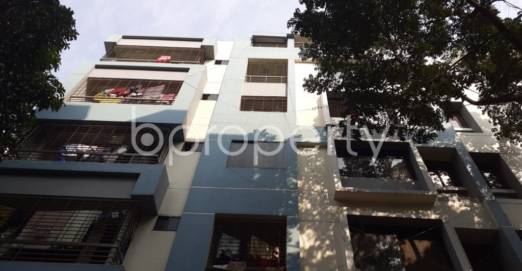 Front view - 3 Bed Apartment for Sale in Mirpur, Dhaka - 1952497