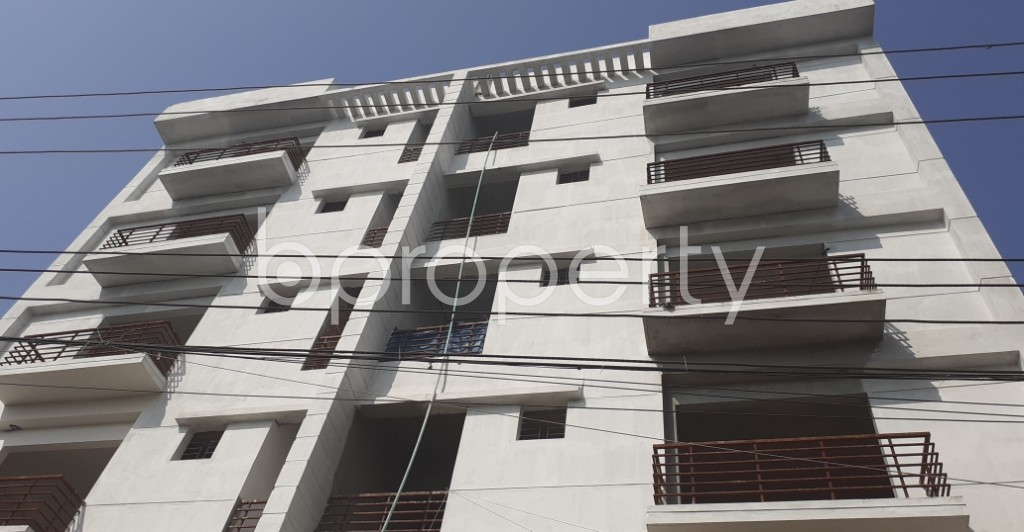 Front view - 3 Bed Apartment for Sale in Uttara, Dhaka - 1952772
