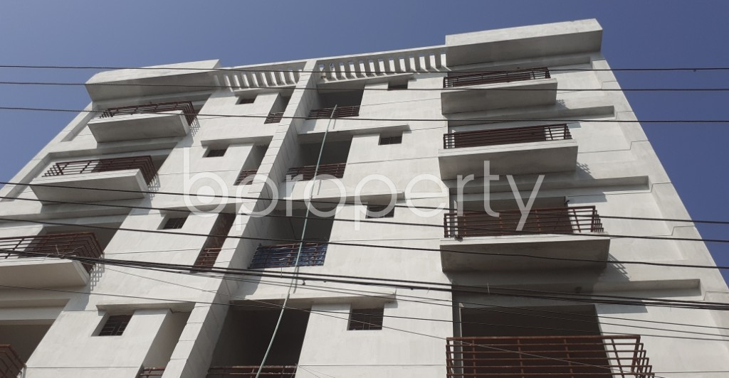 Front view - 3 Bed Apartment for Sale in Uttara, Dhaka - 1952774