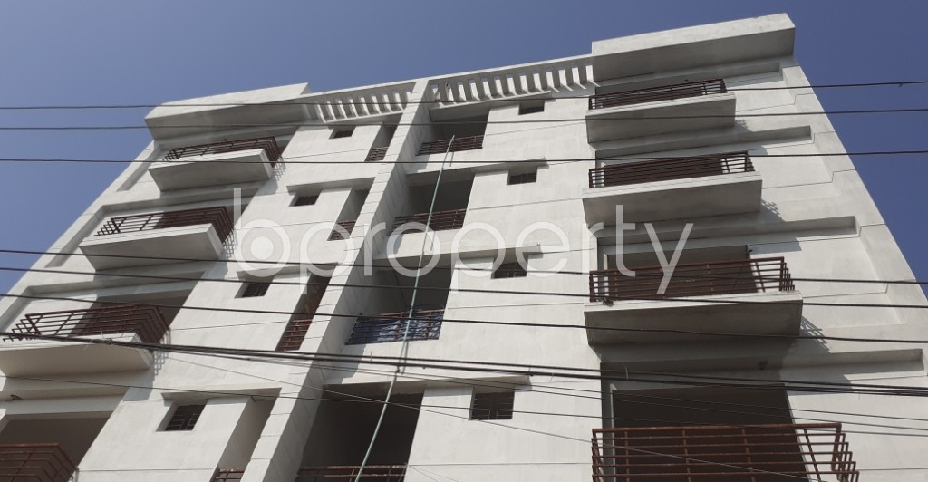 Front view - 3 Bed Apartment for Sale in Uttara, Dhaka - 1952775