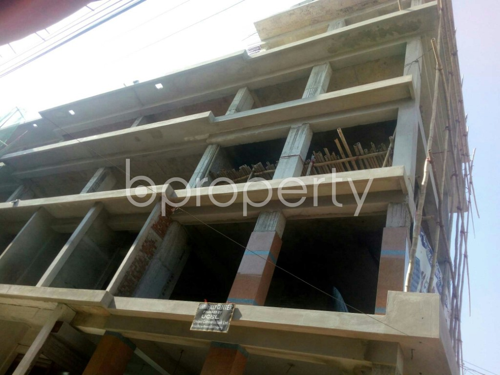 Outside view - Shop for Sale in 4 No Chandgaon Ward, Chattogram - 1952826