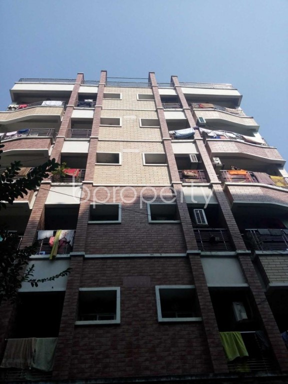 Front view - 3 Bed Apartment for Sale in Uttara, Dhaka - 1952875