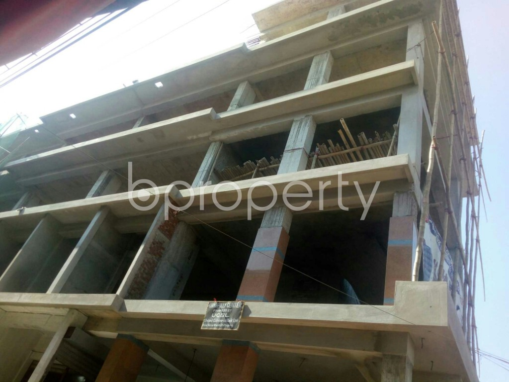 Outside view - Shop for Sale in 4 No Chandgaon Ward, Chattogram - 1952876