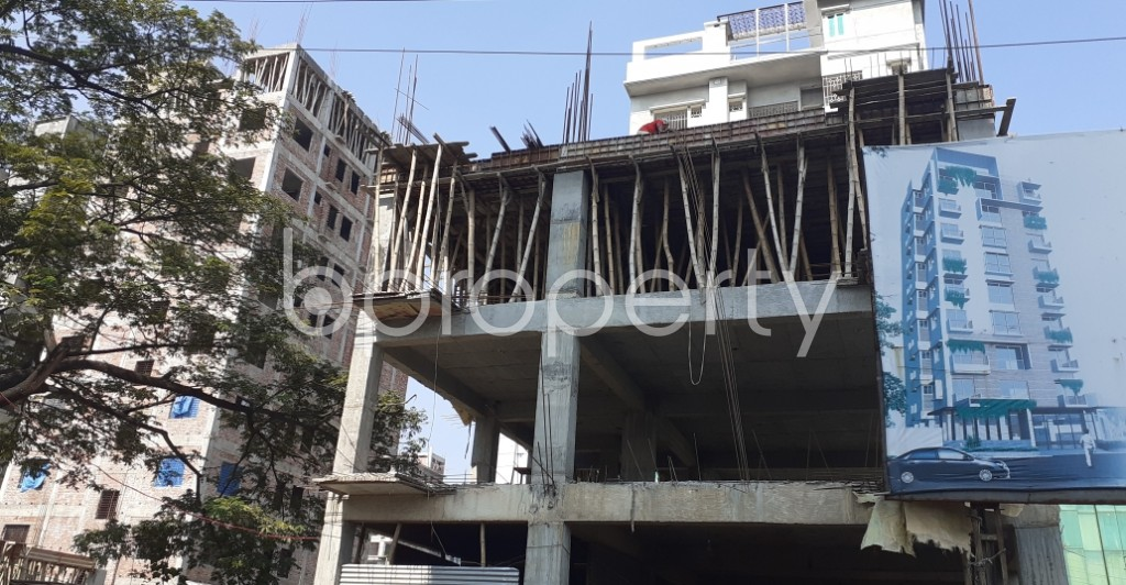 Front view - 4 Bed Apartment for Sale in Bashundhara R-A, Dhaka - 1953093