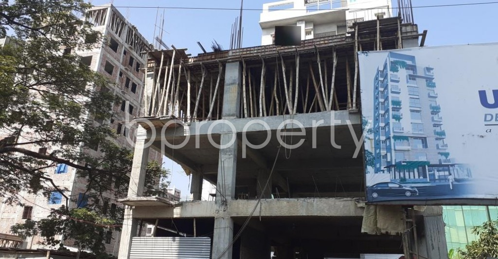 Front view - 4 Bed Apartment for Sale in Bashundhara R-A, Dhaka - 1953098