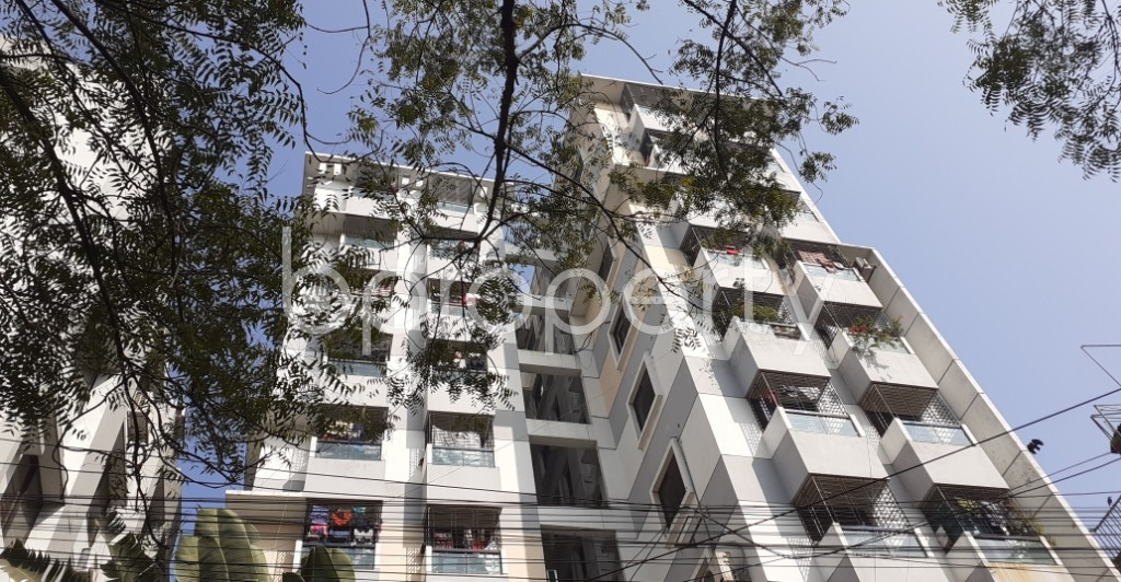 Outside view - 3 Bed Apartment to Rent in Lalmatia, Dhaka - 1953235