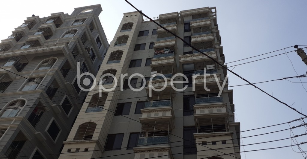 Outside view - 5 Bed Apartment to Rent in Lalmatia, Dhaka - 1953240