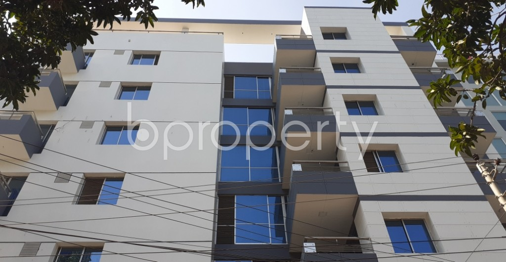 Outside view - 4 Bed Apartment to Rent in Gulshan, Dhaka - 1953461