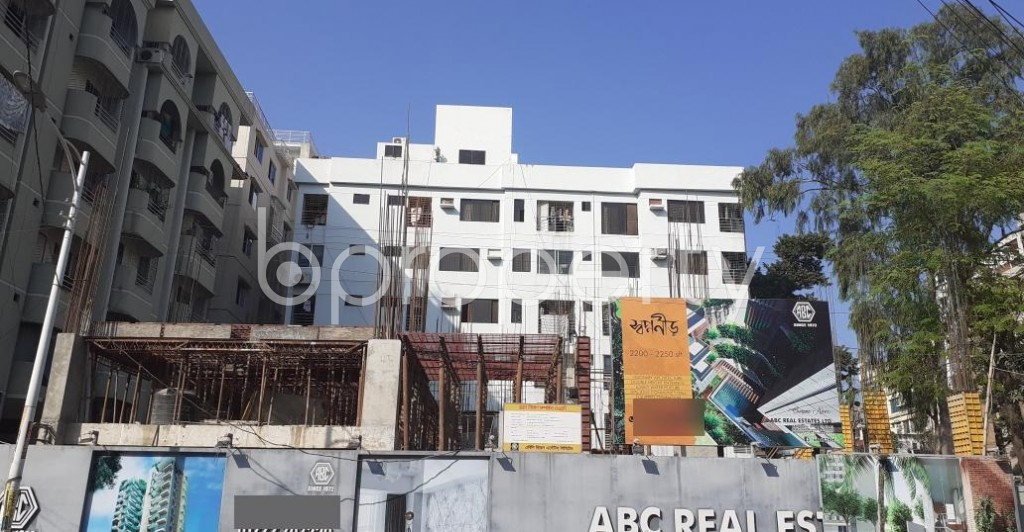 Front view - 3 Bed Apartment for Sale in Uttara, Dhaka - 1953586
