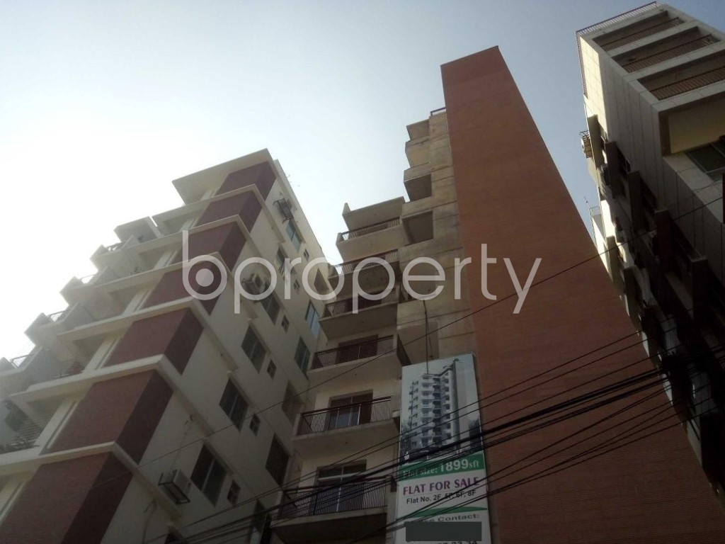 Outside view - 3 Bed Apartment to Rent in Baridhara, Dhaka - 1953736