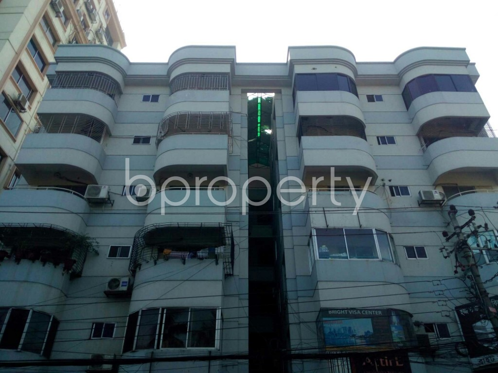 Front view - 3 Bed Apartment to Rent in Banani, Dhaka - 1953816