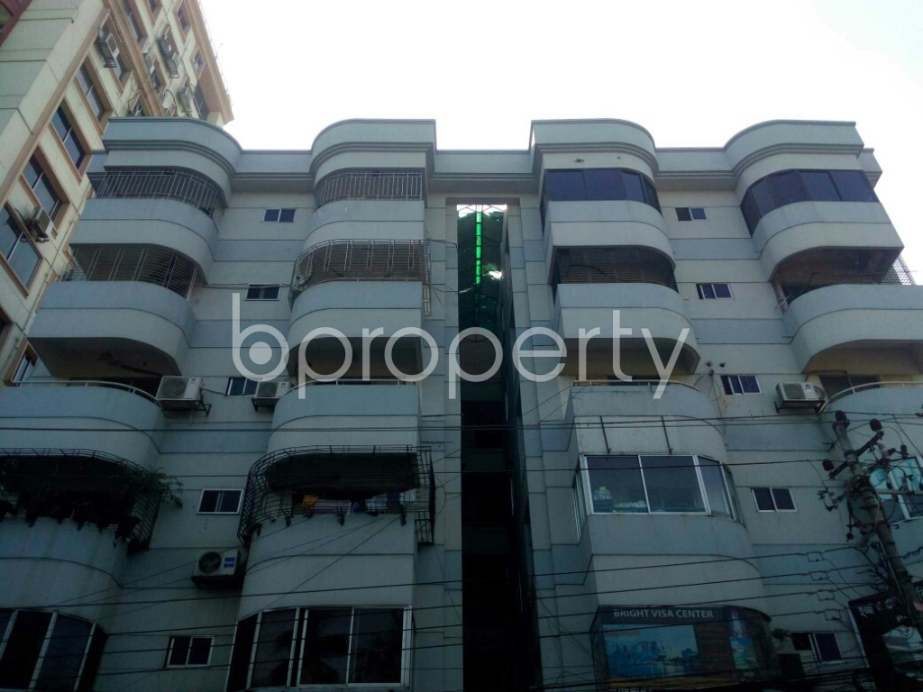 Front view - 3 Bed Apartment for Sale in Banani, Dhaka - 1953818