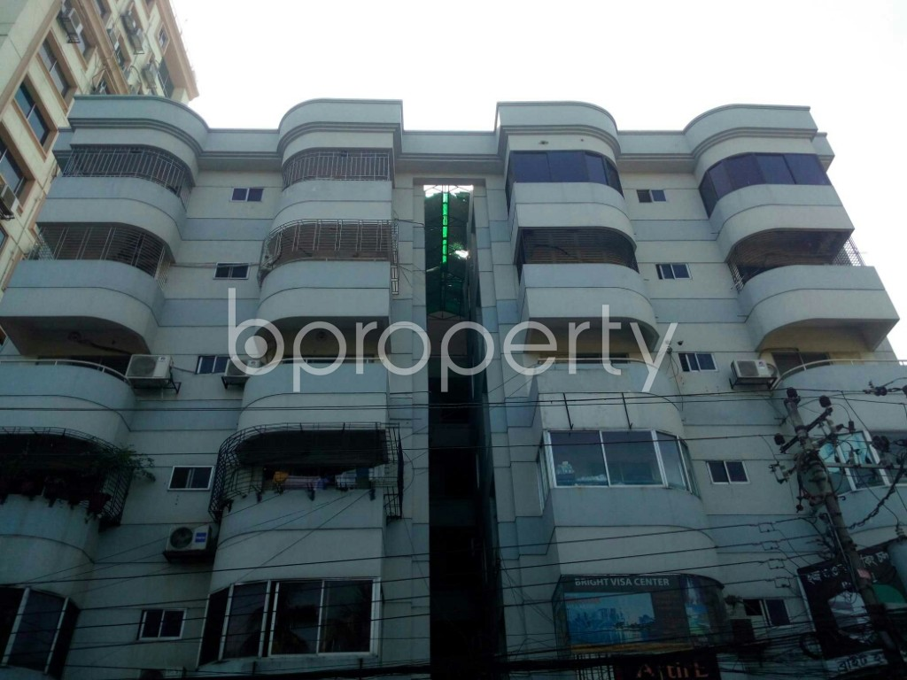 Front view - 3 Bed Apartment for Sale in Banani, Dhaka - 1953819