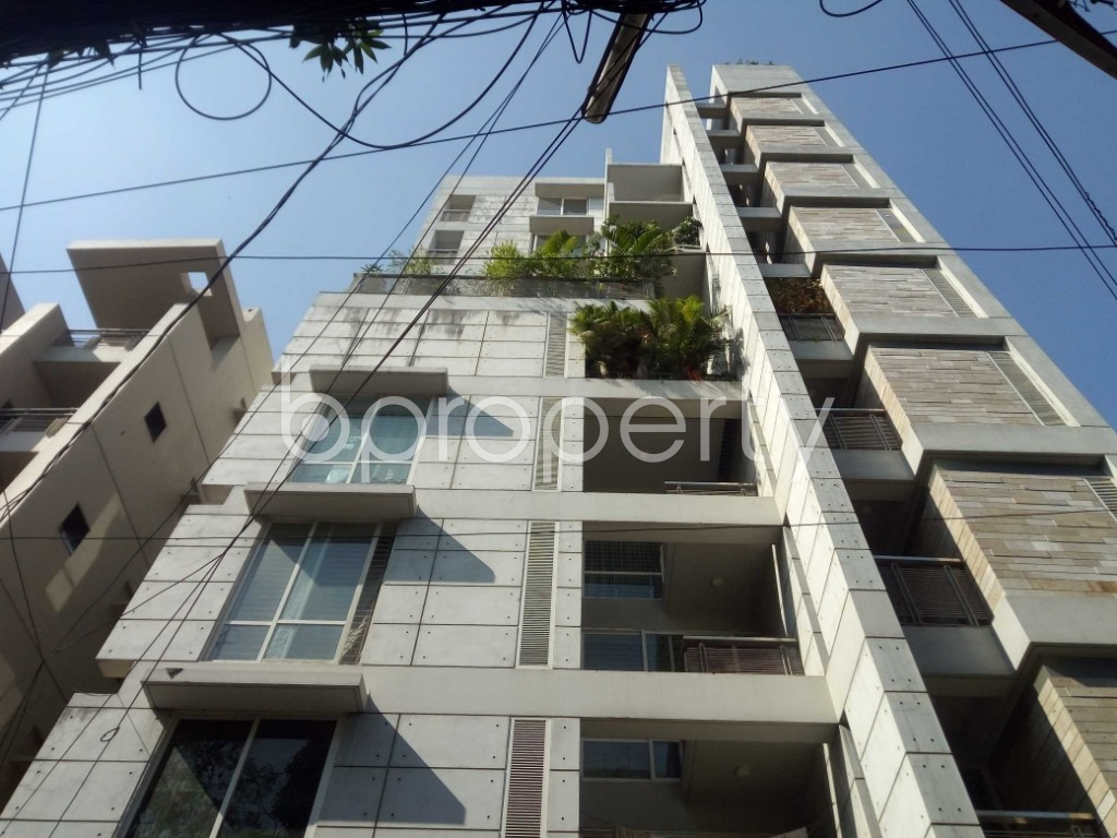 Outside view - 3 Bed Apartment to Rent in Banani, Dhaka - 1954219