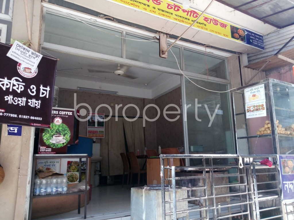 Front view - Shop to Rent in Nadda, Dhaka - 1954231