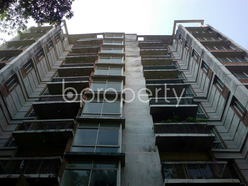 Front view - 3 Bed Apartment to Rent in Banani, Dhaka - 1954264
