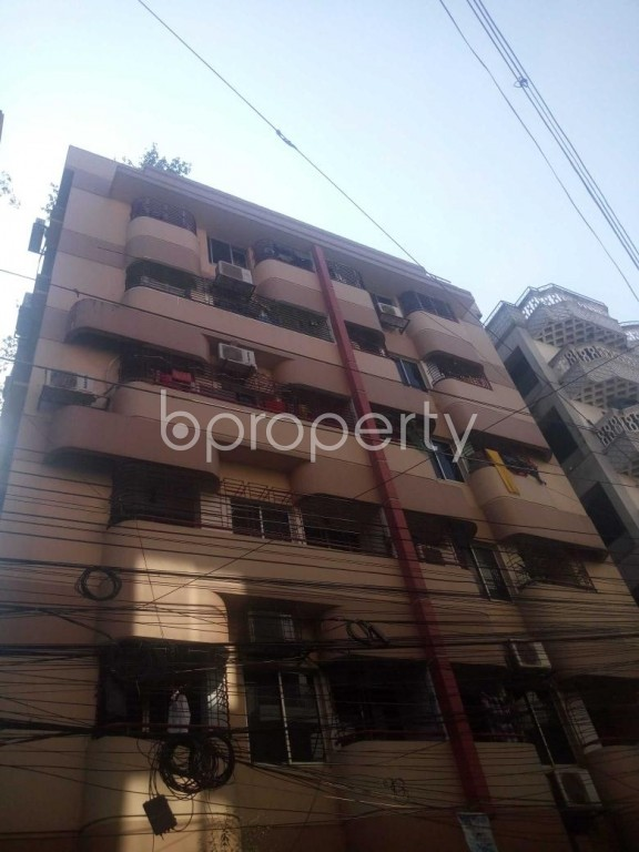 Front view - 3 Bed Apartment for Sale in Uttara, Dhaka - 1954529