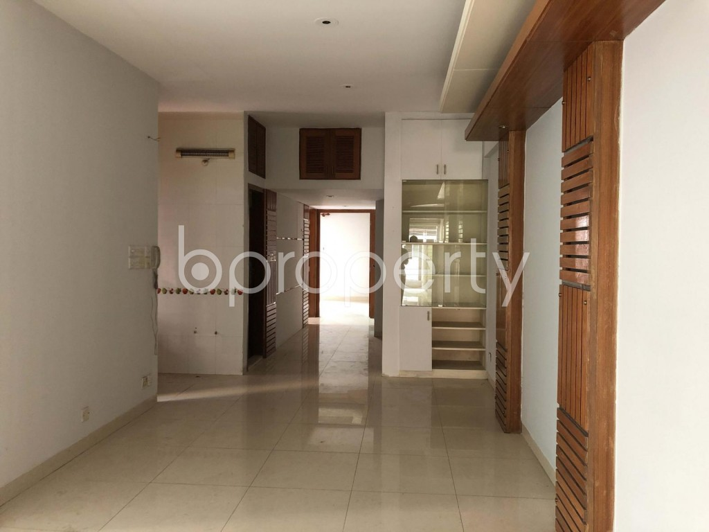 Dining area - 3 Bed Apartment for Sale in Banani, Dhaka - 1948286