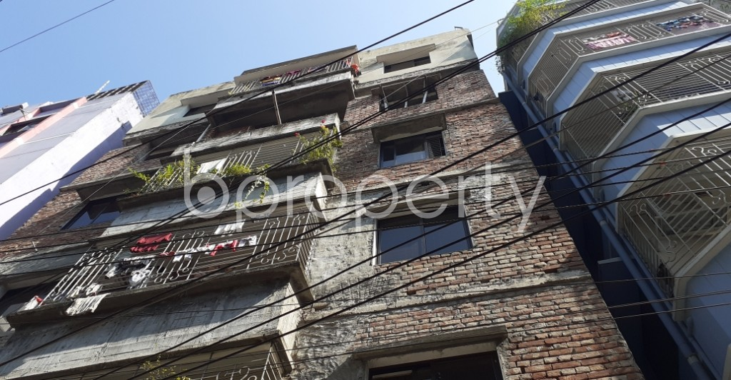 Front view - 2 Bed Apartment to Rent in New Market, Dhaka - 1954697