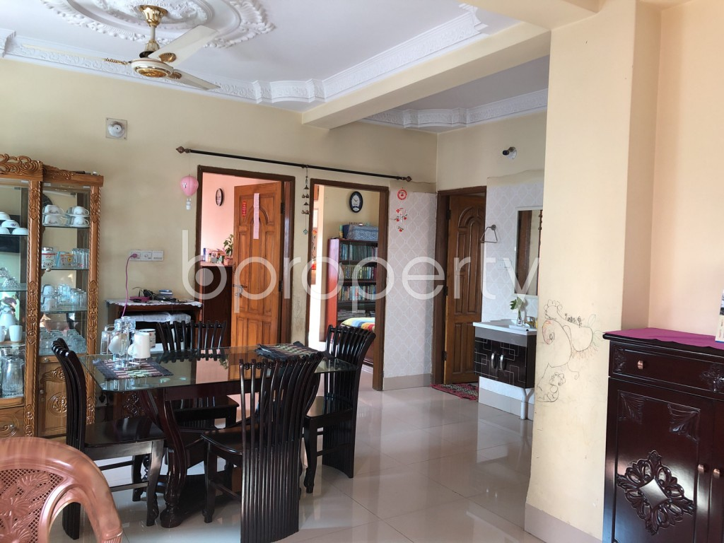 Dining area - 3 Bed Apartment for Sale in Maghbazar, Dhaka - 1940055