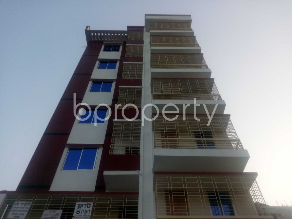 Front view - Office to Rent in Aftab Nagar, Dhaka - 1954903