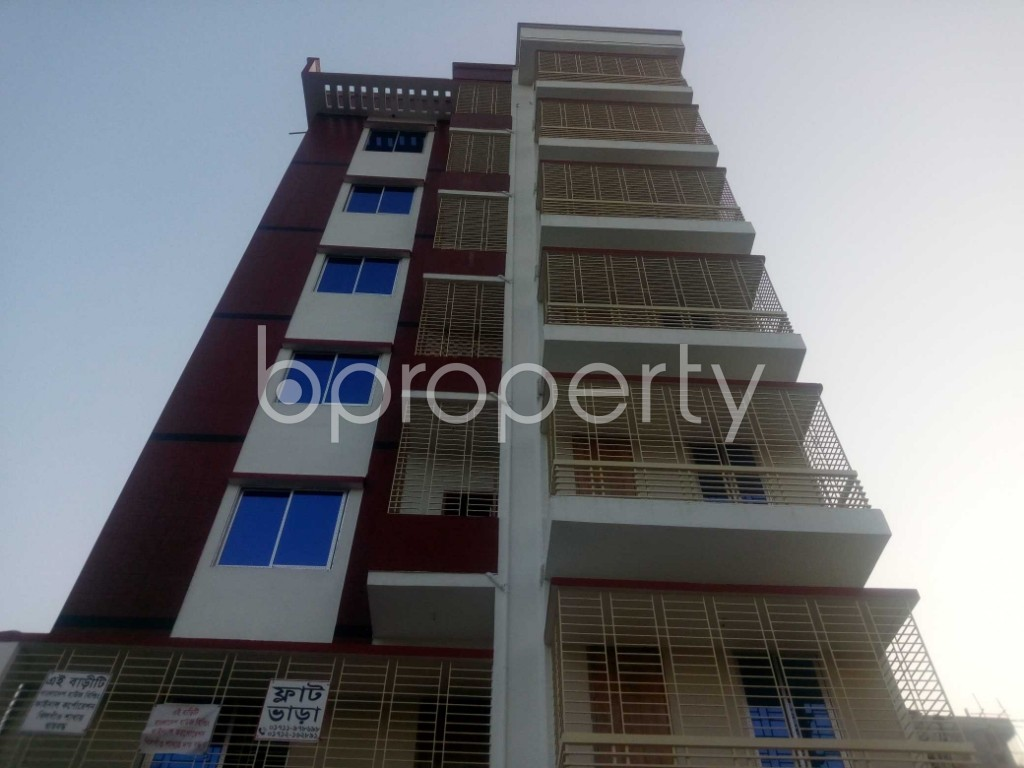 Front view - Office to Rent in Aftab Nagar, Dhaka - 1954905
