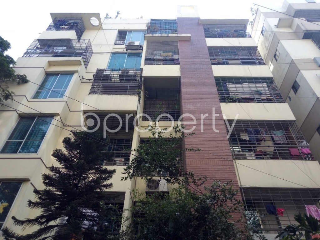 Front view - 2 Bed Apartment for Sale in Uttara, Dhaka - 1954952
