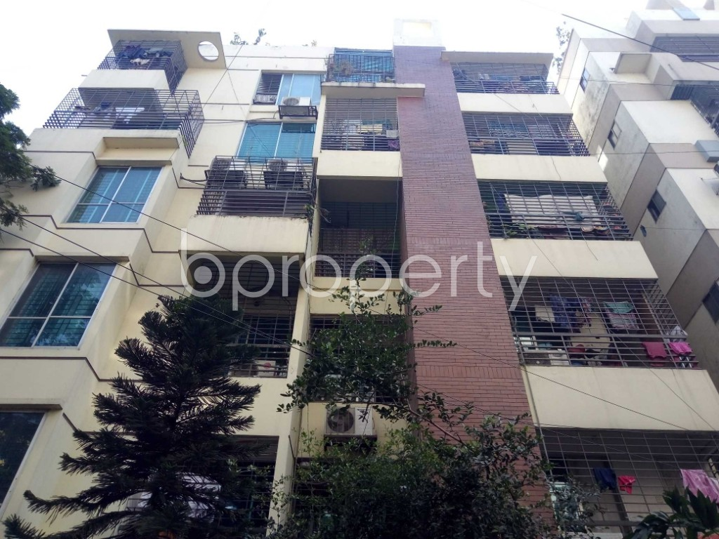 Front view - 2 Bed Apartment for Sale in Uttara, Dhaka - 1954953