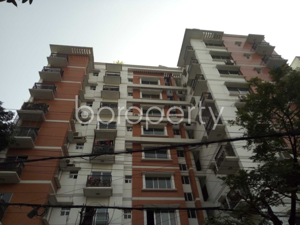Front view - 4 Bed Apartment for Sale in Bashundhara R-A, Dhaka - 1954607