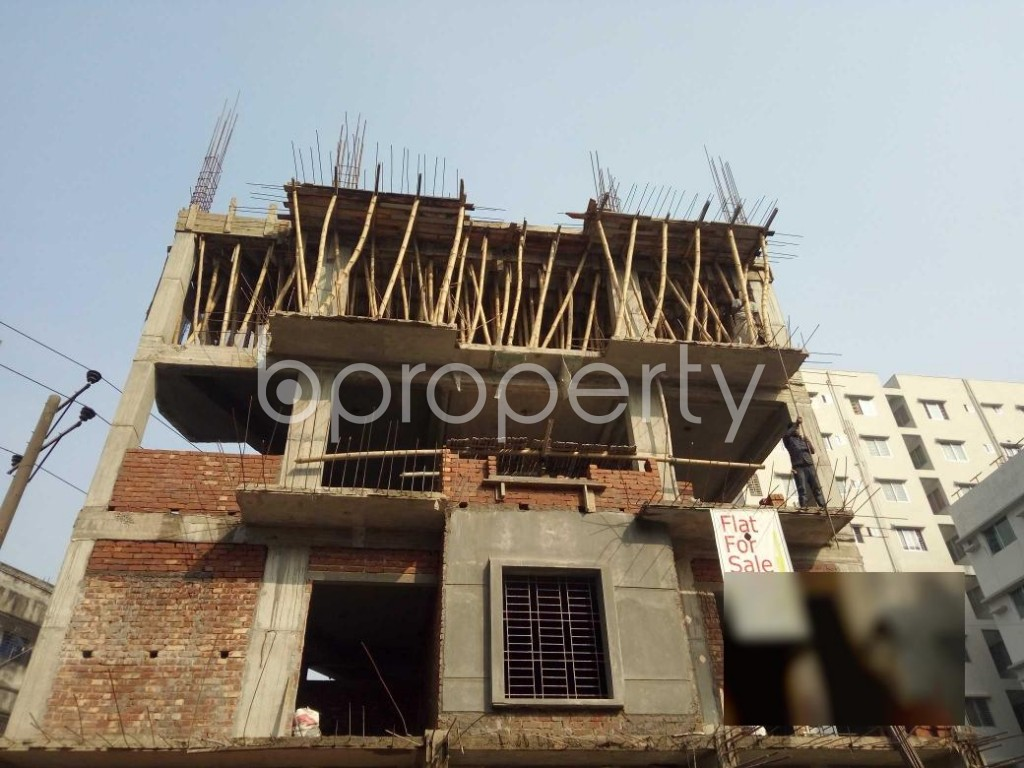 Front view - 3 Bed Apartment for Sale in Bashundhara R-A, Dhaka - 1954691