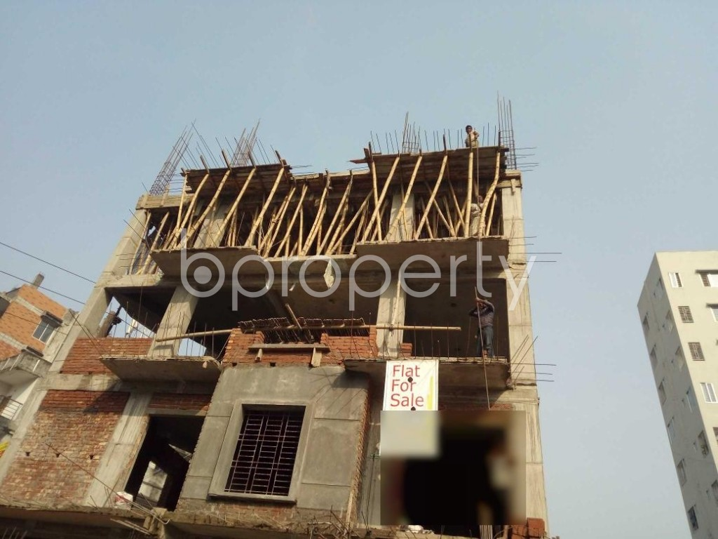 Front view - 3 Bed Apartment for Sale in Bashundhara R-A, Dhaka - 1954669