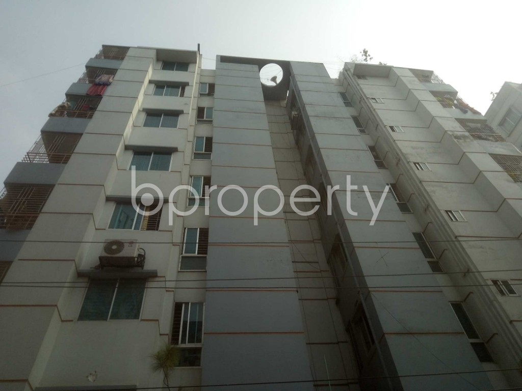 Front view - 2 Bed Apartment for Sale in Mirpur, Dhaka - 1955084
