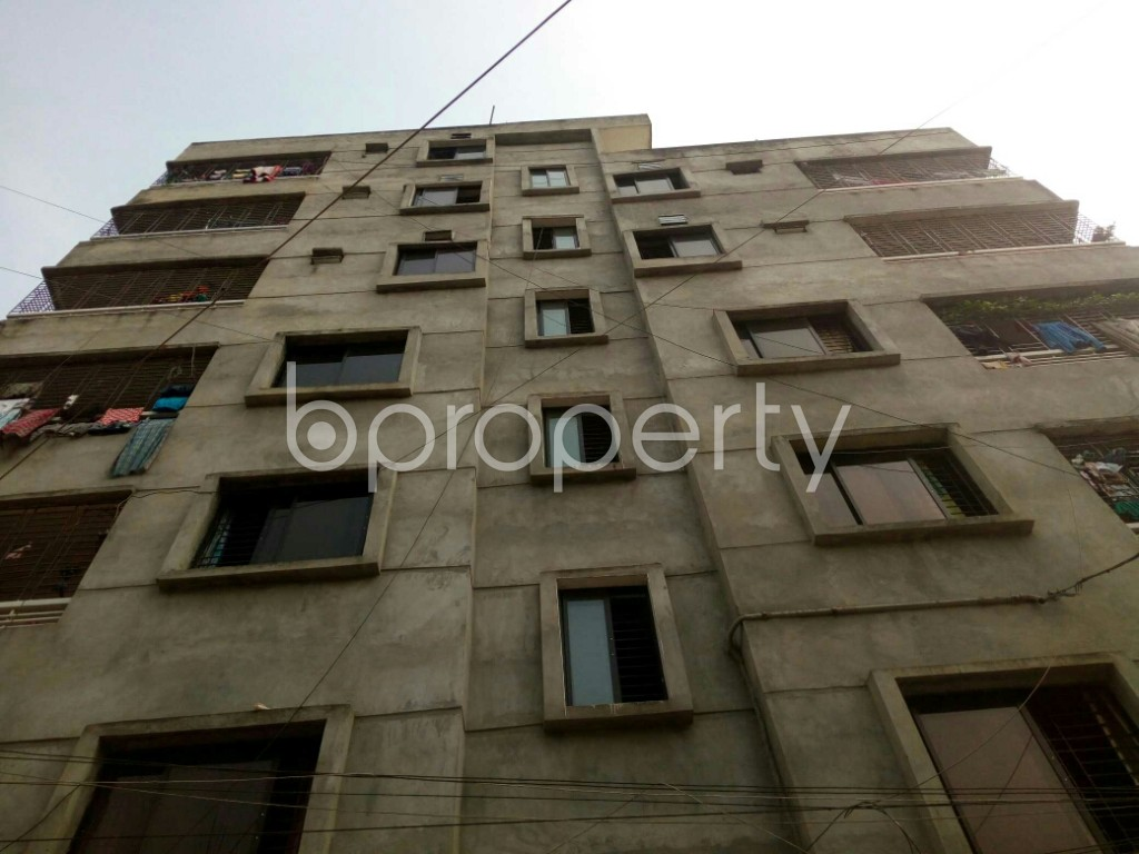 Front view - 2 Bed Apartment for Sale in Mirpur, Dhaka - 1955091