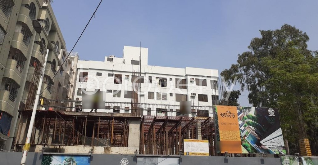 Front view - 3 Bed Apartment for Sale in Uttara, Dhaka - 1955118