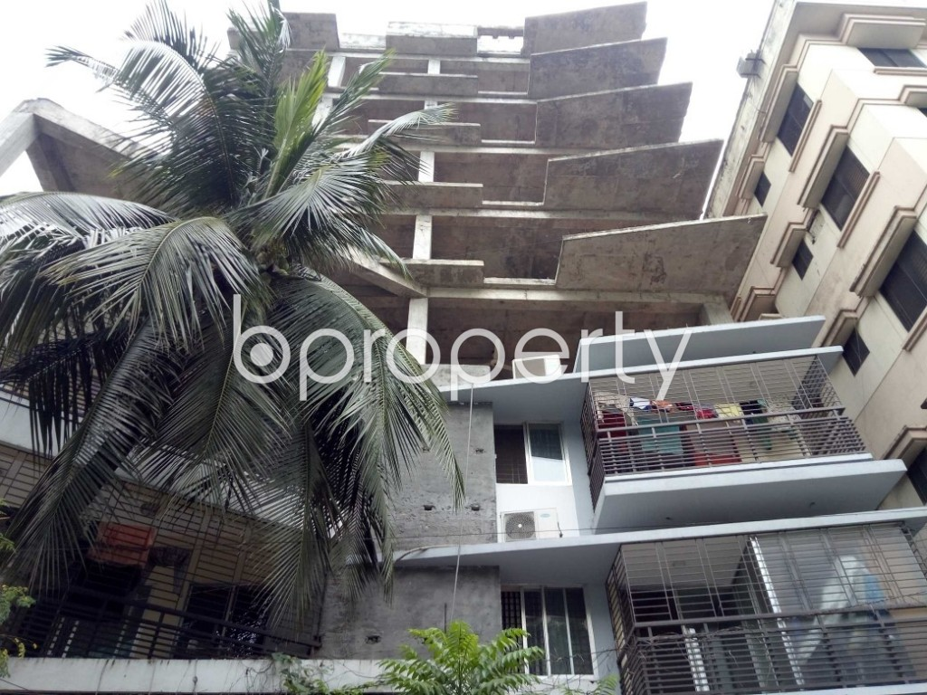 Front view - 3 Bed Apartment for Sale in Uttara, Dhaka - 1955152