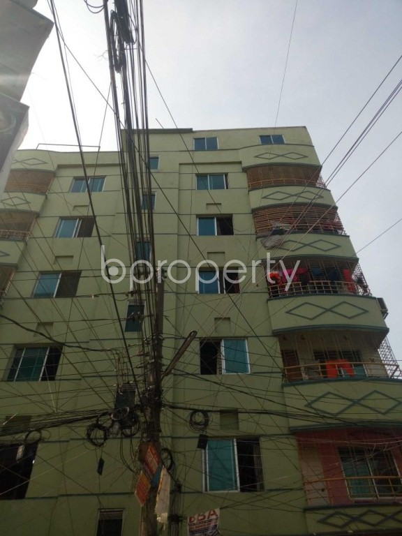 Front view - 5 Bed Apartment for Sale in Uttara, Dhaka - 1955208