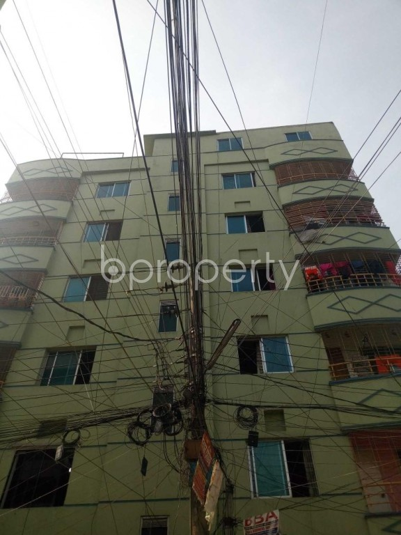 Front view - 3 Bed Apartment for Sale in Uttara, Dhaka - 1955209