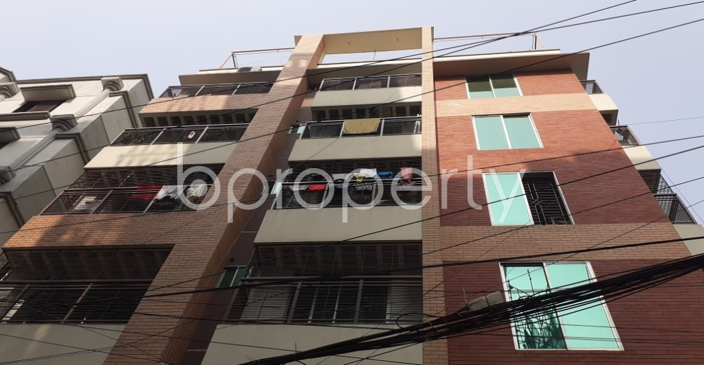 Front view - 3 Bed Apartment to Rent in Bashundhara R-A, Dhaka - 1955434