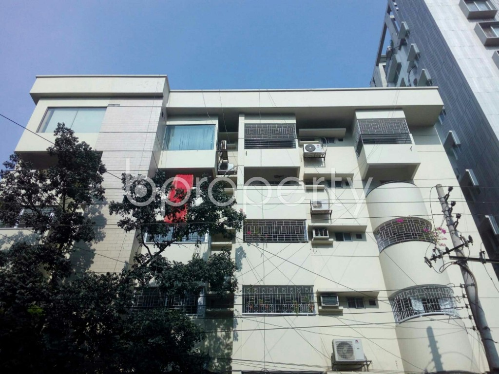 Front view - 3 Bed Apartment to Rent in Banani, Dhaka - 1955443