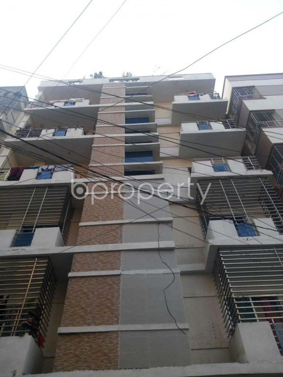 Front view - 1 Bed Apartment to Rent in Uttara, Dhaka - 1955469