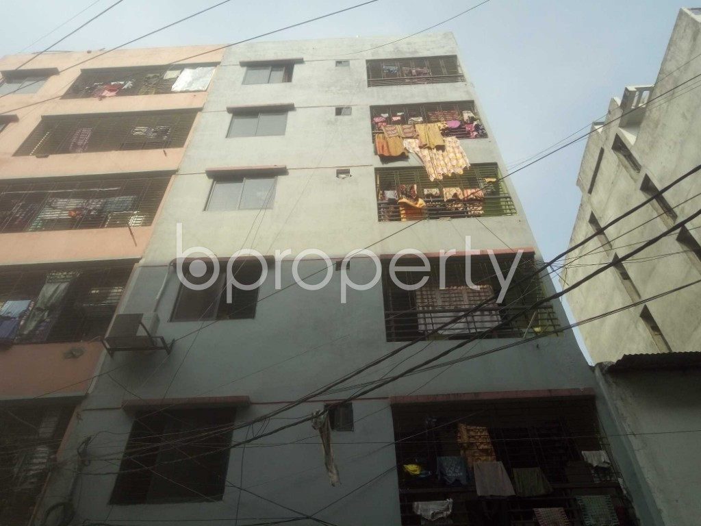 Front view - 2 Bed Apartment for Sale in Mirpur, Dhaka - 1955535