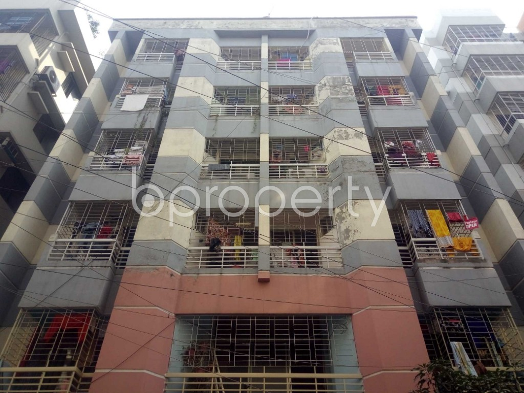 Front view - 3 Bed Apartment to Rent in Uttara, Dhaka - 1955679