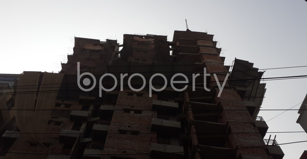 Front view - 3 Bed Apartment for Sale in Mugdapara, Dhaka - 1955868