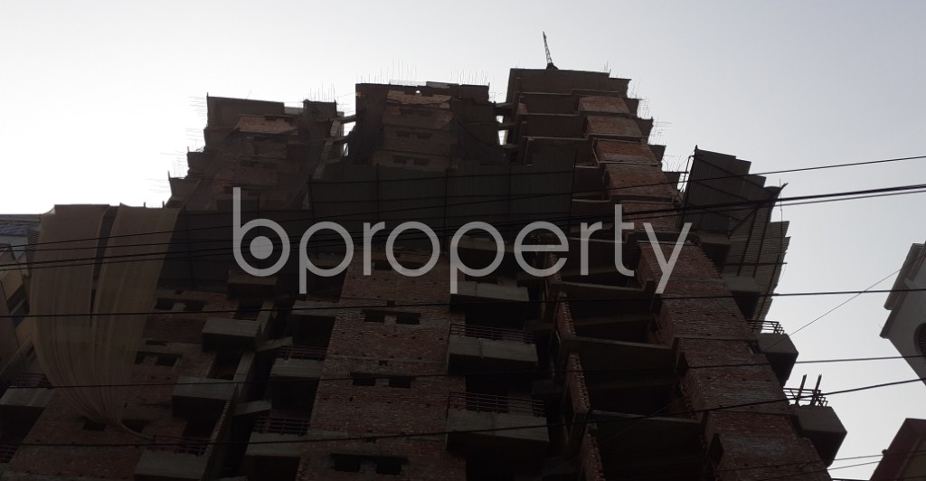 Front view - 3 Bed Apartment for Sale in Mugdapara, Dhaka - 1955869