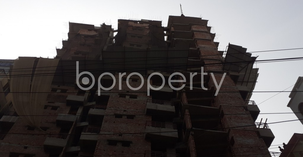 Front view - 3 Bed Apartment for Sale in Mugdapara, Dhaka - 1955870