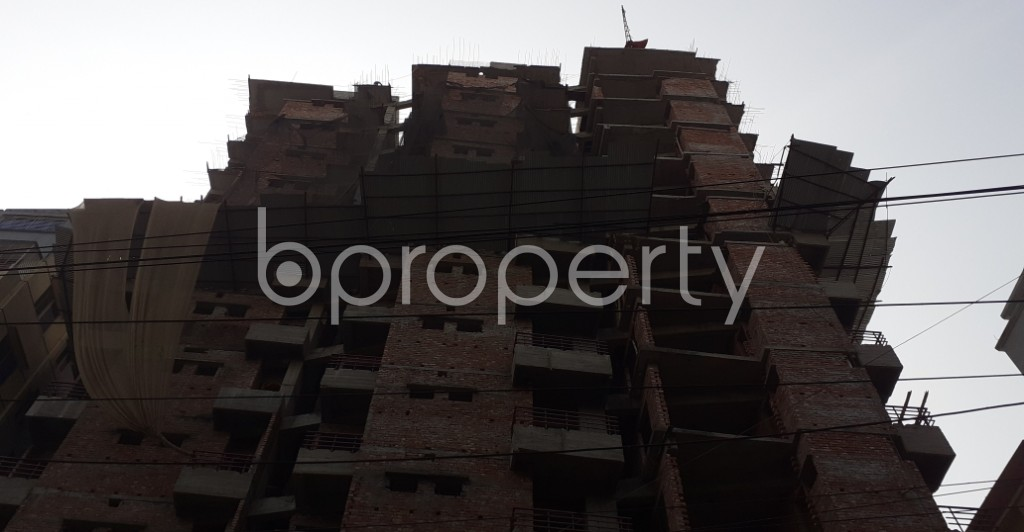 Front view - 3 Bed Apartment for Sale in Mugdapara, Dhaka - 1955871