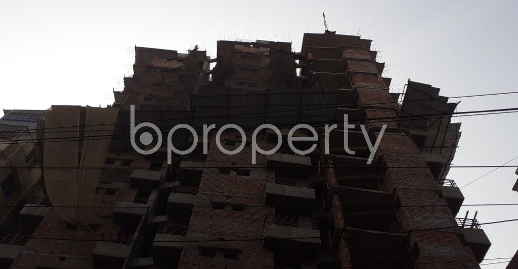 Front view - 3 Bed Apartment for Sale in Mugdapara, Dhaka - 1955872