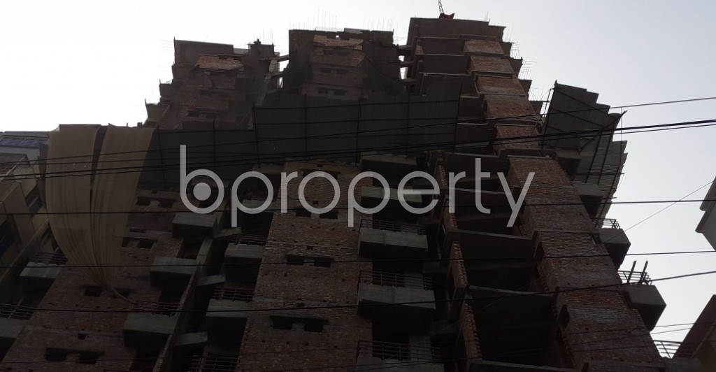 Front view - 3 Bed Apartment for Sale in Mugdapara, Dhaka - 1955873