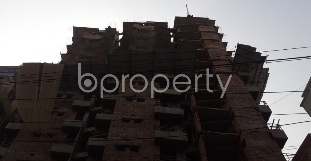 Front view - 3 Bed Apartment for Sale in Mugdapara, Dhaka - 1955874