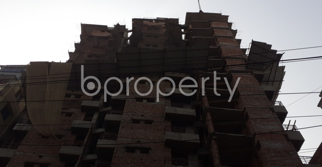 Front view - 3 Bed Apartment for Sale in Mugdapara, Dhaka - 1955875